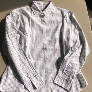 Barbour summer tattersall shirt Sz 14
